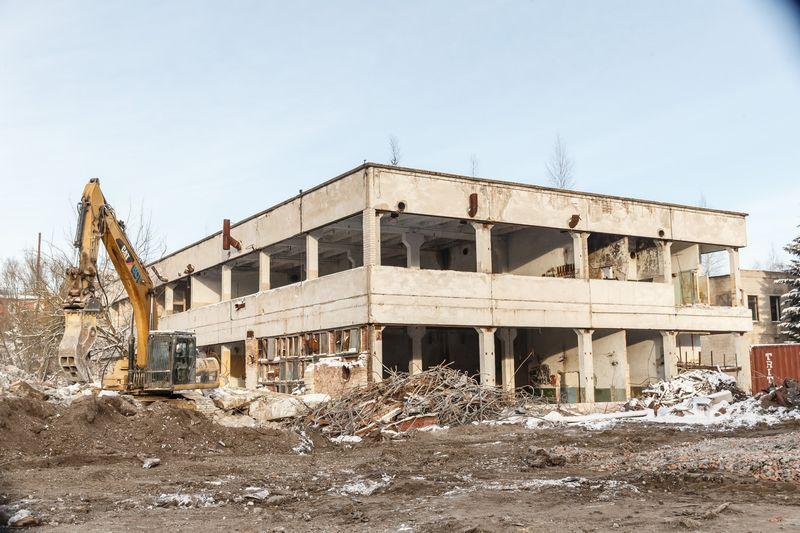 """2018 m. senų """"Audėjo"""", """"Skaiteks"""" ir kitų gamyklų teritorijoje iškils naujas gyvenamasis kvartalas, taip pat ir VPH plėtojamas prekybos centras. Vladimiro Ivanovo (VŽ) nuotr."""