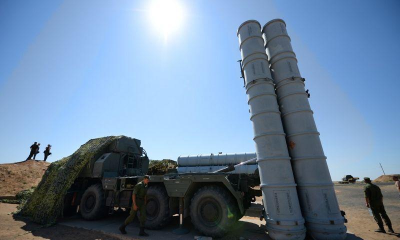 """S-300/SA 10 priešlėktuvinės gynybos sistemos. """"RIA Novosti"""" / """"Scanpix"""" nuotr."""
