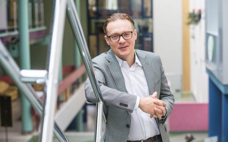 """Lukas Mackevičius, sertifikuotas streso valdymo ir sveikatingumo konsultantas, programos """"StressOff"""" autorius, sako, kad stresas savaime nėra nei blogas, nei geras. JUDITOS GRIGELYTĖS (VŽ) nuotr."""
