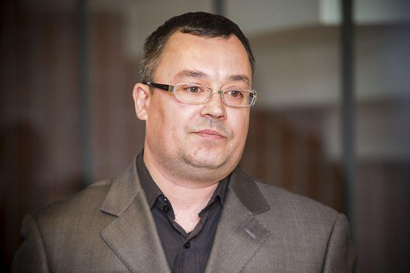 """Egidijus Šimonis, Lietuvos pienininkų asociacijos """"Pieno centras"""" direktorius: """"Mūsų pozicija – negali būti išskirtinės valstybės pagalbos vienai įmonei. Projektas, kuris turėjo būti įgyvendintas per porą metų, tęsiasi kur kas ilgiau ir nuolat papildomai remiamas."""" Vladimiro Ivanovo (VŽ) nuotr."""
