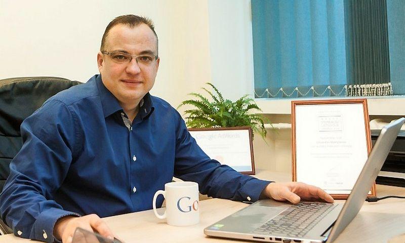 """Eduardas Manylovas, UAB """"Verslo idėjų partneriai"""" direktorius"""