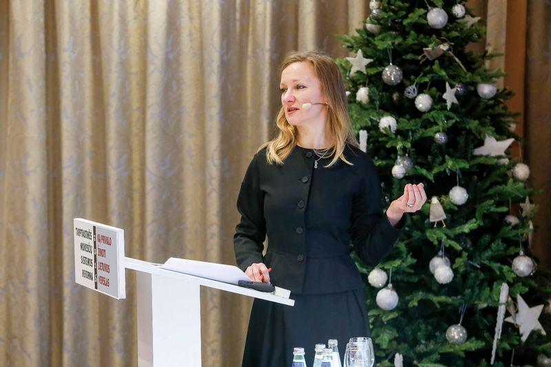 Audronė Misiūnaitė, LR finansų ministerijos Tiesioginių mokesčių ir tarptautinio apmokestinimo skyriaus vedėja. Vladimiro Ivanovo (VŽ) nuotr.