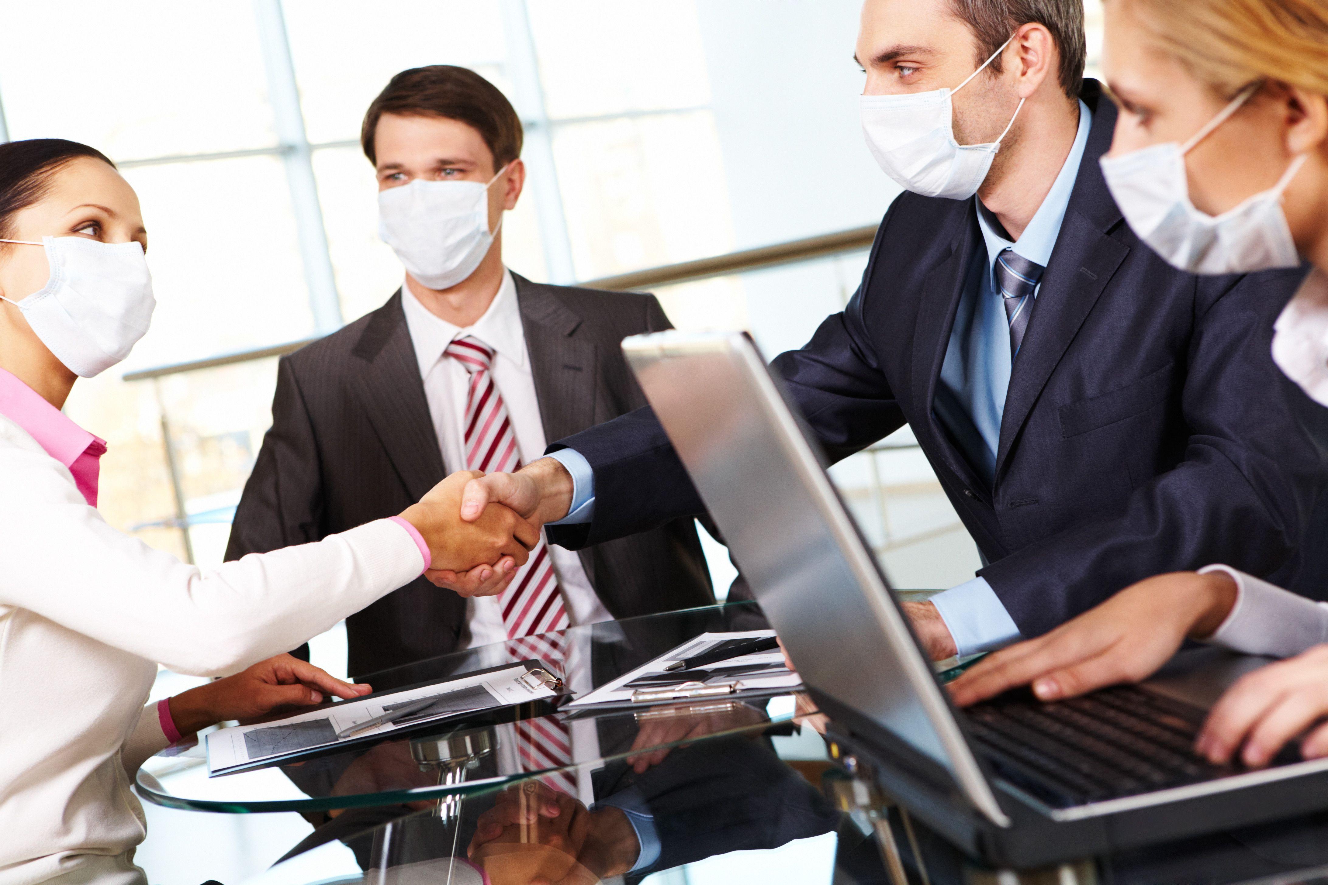 Sveikatos pavojai biure