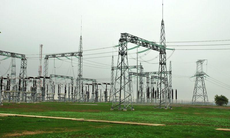 """LitPol Link"" elektros jungtis su Lenkija prie Alytaus. Naglio Navako (VŽ) nuotr."