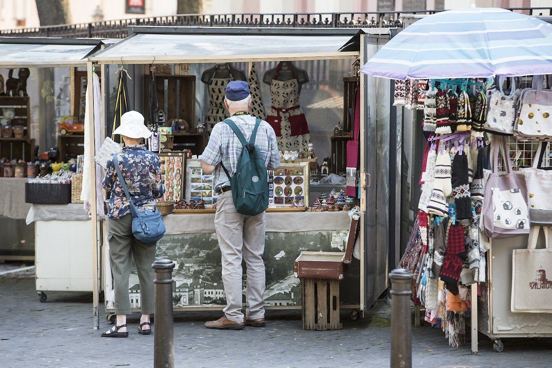 Vilnius neteko 37.000 rus� ir baltarusi� turist�, j� vietas u�pild� kiti