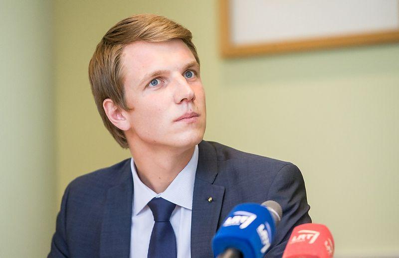 """Paulius Vertelka, asociacijos """"INFOBALT"""" vykdomasis direktorius. Juditos Grigelytės (VŽ) nuotr."""