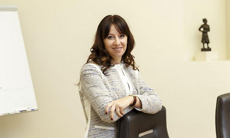 Gerda Žigienė, Lietuvos finansų rinkų instituto direktorė. Vladimiro Ivanovo (VŽ) nuotr.