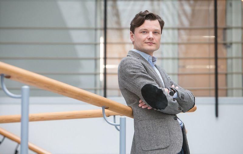 """Eligijus Kajieta, tarptautinės vadybos ir konsultacijų bendrovės """"Hay Group"""" generalinis direktorius  Baltijos šalims. Juditos Grigelytės (VŽ) nuotr."""