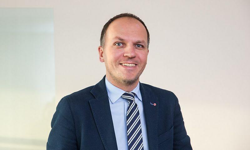 """Laimonas Belickas, lizingo bendrovės SIA """"UniCredit Leasing"""" Lietuvos filialo generalinis direktorius. Juditos Grigelytės (VŽ) nuotr."""