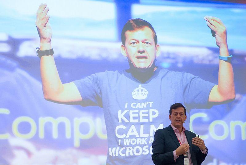 """Michaelis Kogeleris, technologijų bendrovės """"Microsoft"""" vadovas Vidurio ir Rytų Europai. Aušros Barysienės nuotr."""