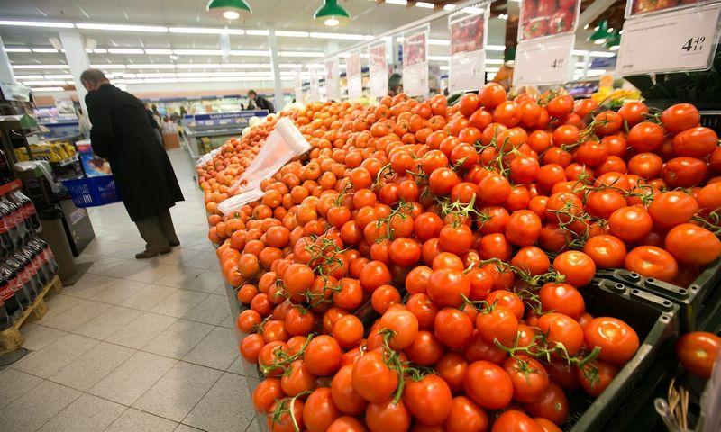 Turkiški pomidorai Rusijos didmiesčiuose užėmė 40% rinkos  Juditos Grigelytės (VŽ) nuotr.