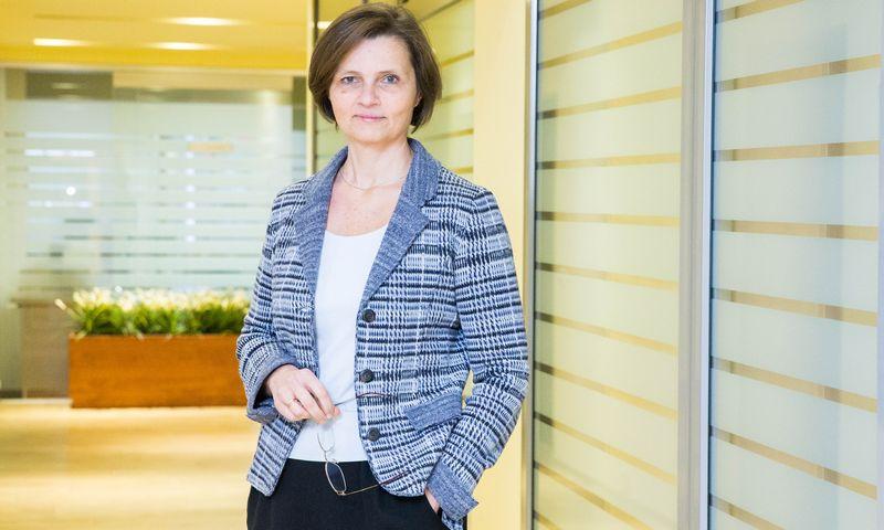 Jekaterina Šarmavičienė, Centrinės projektų valdymo agentūros (CPVA) Viešosios ir privačios partnerystės skyriaus vadovė. Juditos Grigelytės (VŽ) Nuotr.