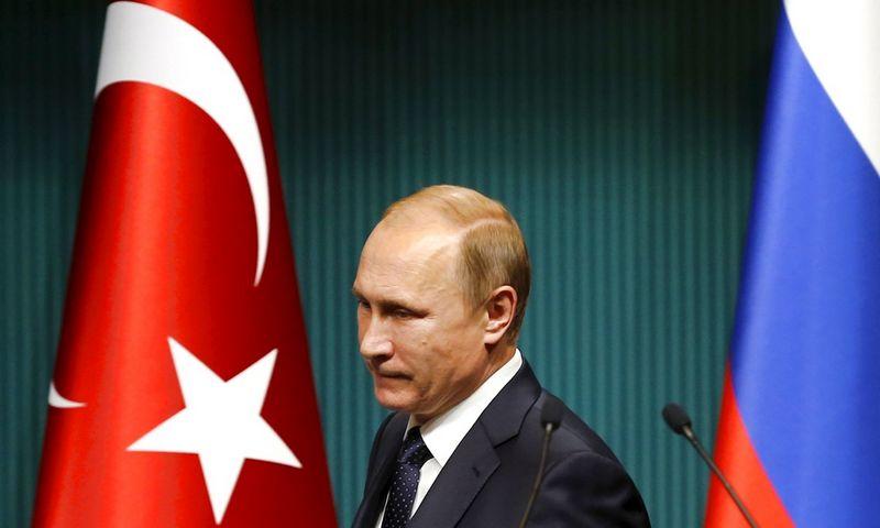 """Vladimiras Putinas, Rusijos prezidentas. Umito Bektaso (""""Reuters"""" / """"Scanpix"""") nuotr."""