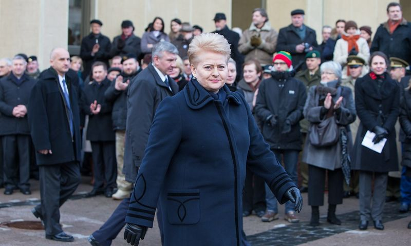 Lietuvos prezidentė Dalia Grybauskaitė. Juditos Grigelytės (VŽ) nuotr.