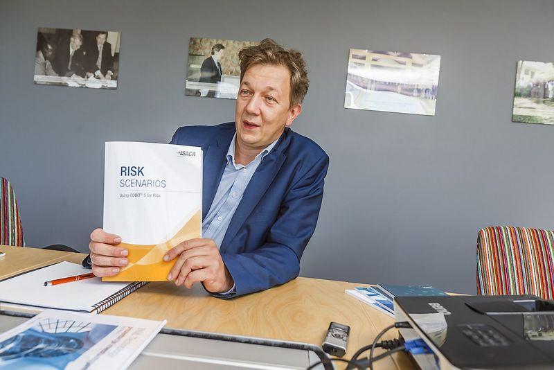 """Kazimieras Tonkūnas, investicijų į informacines ir ryšio technologijas AB """"INVL Technology"""" direktorius. Vladimiro Ivanovo (VŽ) nuotr."""