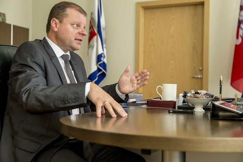 Saulius Skvernelis, Lietuvos Respublikos vidaus reikalų ministras. Vladimiro Ivanovo (VŽ) nuotr.