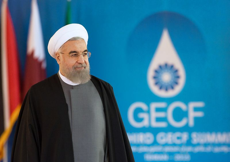 President of the Islamic Republic of Iran Hassan Rouhani before the summit of the heads of state and government of the Gas Exporting Countries Forum in Tehran. Sergey Guneev/Sputnik