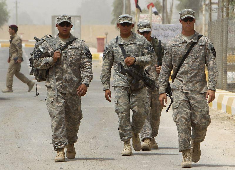 """JAV kariai Iraką po beveik dešimtmetį trukusios operacijos paliko 2011 m. pabaigoje. Thaiero al-Sudani (""""Reuters"""" / """"Scanpix"""") nuotr."""