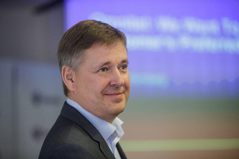 """Danas Strombergas, telekomunikacijų UAB """"Omnitel"""" generalinis direktorius. Vladimiro Ivanovo (VŽ) nuotr."""