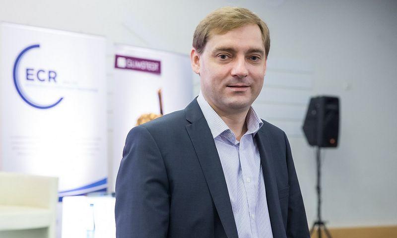 """Norbertas Žioba, UAB """"Maxima LT"""" prekybos vadovas, bus naujasis """"Teo"""" ir """"Omnitel"""" privačių klientų vadovas. Juditos Grigelytės (VŽ) nuotr."""
