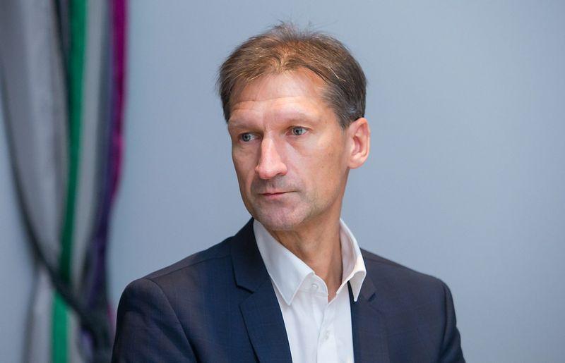 """Marijus Kirstukas, """"Kalnapilio – Tauro grupės"""" generalinis direktorius: jUDITOS gRIGELYTĖS NUOTR."""
