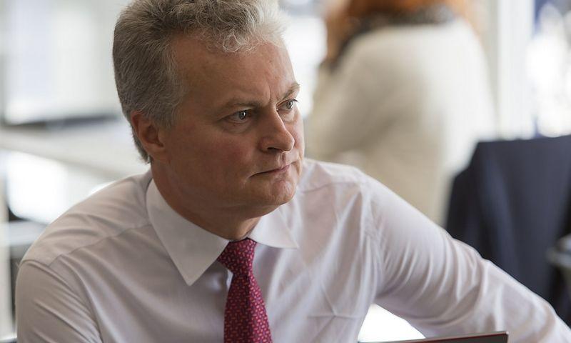 Gitanas Nausėda, SEB banko prezidento patarėjas, finansų analitikas. Vladimiro Ivanovo (VŽ) nuotr.