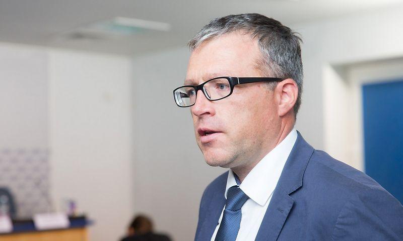 Gintaras Varnas, VšĮ Užstato sistemos administratorius direktorius. Juditos Grigelytės (VŽ) nuotr.