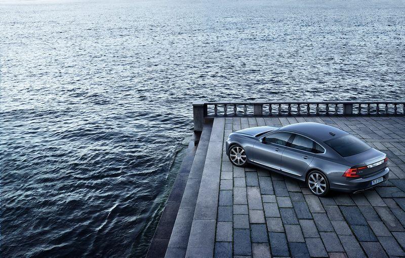 """""""Volvo S90"""". Gamintojo nuotr.."""