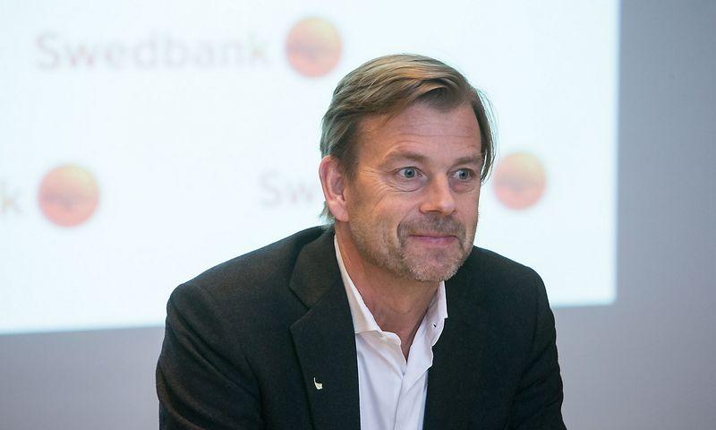 """Michaelas Wolfas, """"Swedbank"""" grupės prezidentas. Juditos Grigelytės (VŽ) nuotr."""