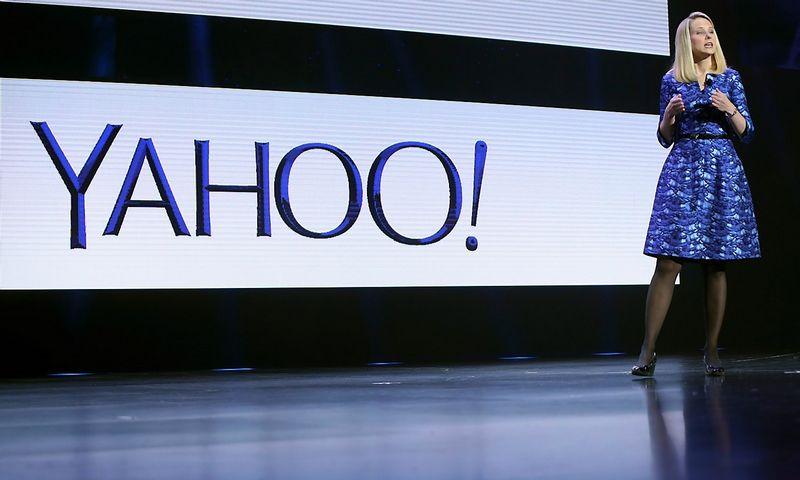 "Marissa Mayer, ""Yahoo"" vykdančioji direktorė. Roberto Galbraitho (""Reuters"" / ""Scanpix"") nuotr."