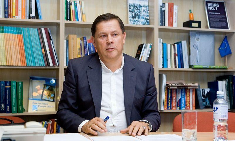 """Rimandas Stonys, dujų importo bendrovės """"Dujotekana"""" valdybos pirmininkas, JAV bendrovės """"Clement Power Venture"""" akcininkas, Kauno termofikacijos elektrinės (KTE) valdybos pirmininkas. Juditos Grigelytės (VŽ) nuotr."""
