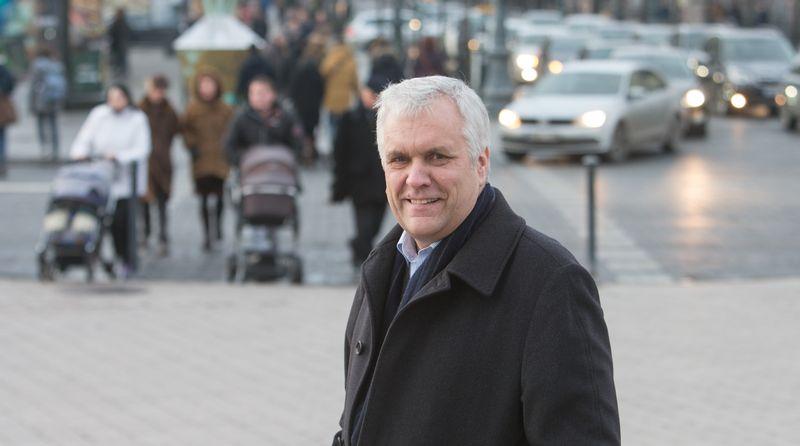 Prof. dr. Alvydas Jokubaitis, Vilniaus universiteto TSPMI Politikos teorijos katedros vedėjas. Juditos Grigelytės nuotr.