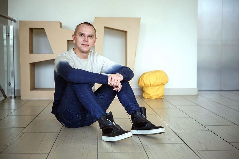Edvardas Kavarskas, Lietuvos grafinio dizaino asociacijos valdybos narys, pakuočių dizaineris. Juditos Grigelytės (VŽ) nuotr.
