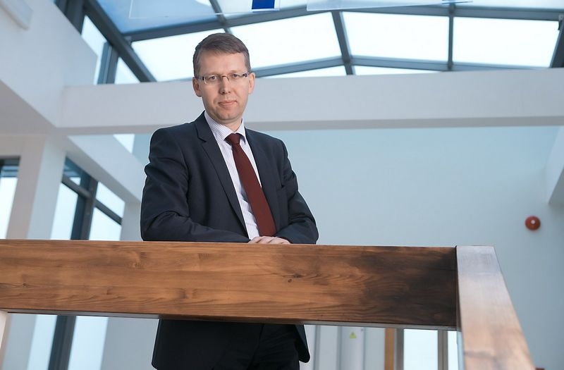 Aidas Ignatavičius, AB LESTO generalinis direktorius ir Valdybos pirmininkas. Juditos Grigelytės (VŽ) nuotr.