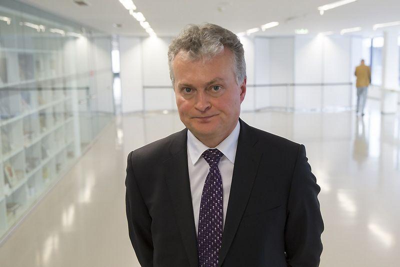 Gitanas Nausėda, finansų analitikas, SEB banko prezidento patarėjas. Vladimiro Ivanovo nuotr.