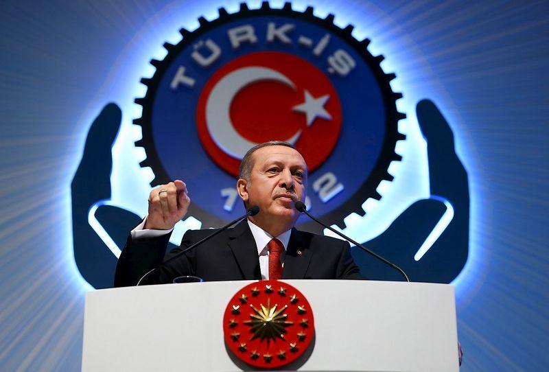 "Recepas Tayyipas Erdoganas, Turkijos prezidentas. ""Reuters"" / ""Scanpix"" nuotr."