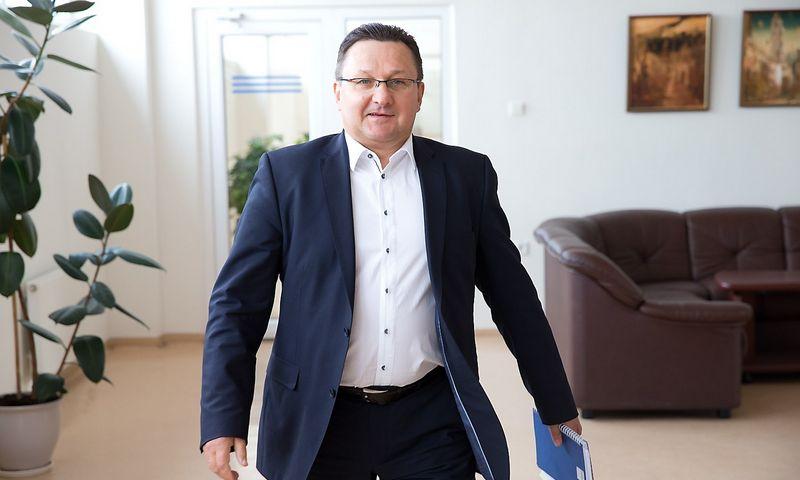 "Gintautas Bareika tapo bendrovės ""Omniteksas"" generaliniu direktoriumi. VLADIMIRO IVANOVO (VŽ) nuotr."