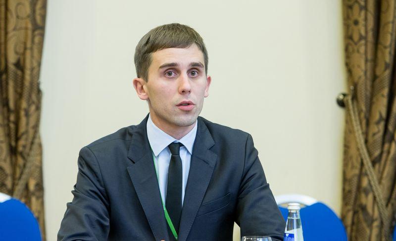 Tadas Povilauskas, vyriausiasis SEB banko analitikas. Juditos Grigelytės (VŽ) nuotr.