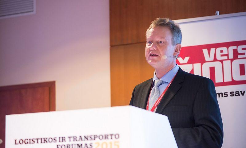"""Sjuras Haugenas, """"Statoil Fuel & Retail SA"""" produktų kokybės ir vystymo direktorius. Aušros Barysienės (VŽ) nuotr."""