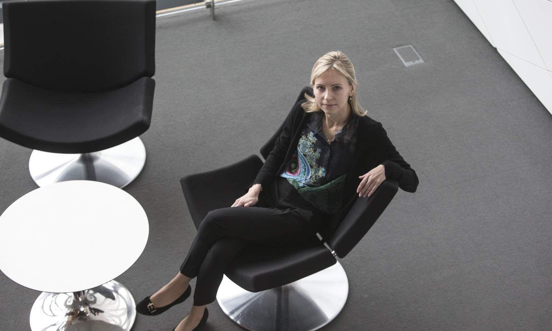 """Agnė Anzelienė, """"Swedbank"""" finansų maklerė. Vladimiro Ivanovo (VŽ) nuotr."""
