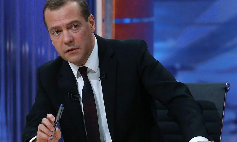 Russia's Prime Minister Dmitry Medvedev. Ekaterina Shtukina/Sputnik
