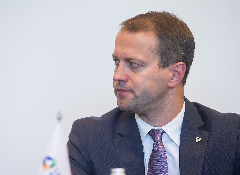 """Dalius Misiūnas, """"Lietuvos energijos"""" valdybos pirmininkas ir generalinis direktorius. Juditos Grigelytės (VŽ) nuotr."""