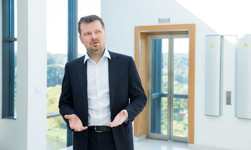 """Kęstutis Gečas, """"INK agency"""" vyriausiasis partneris, RSVAA vadovas. Juditos Grigelytės (VŽ) nuotr."""