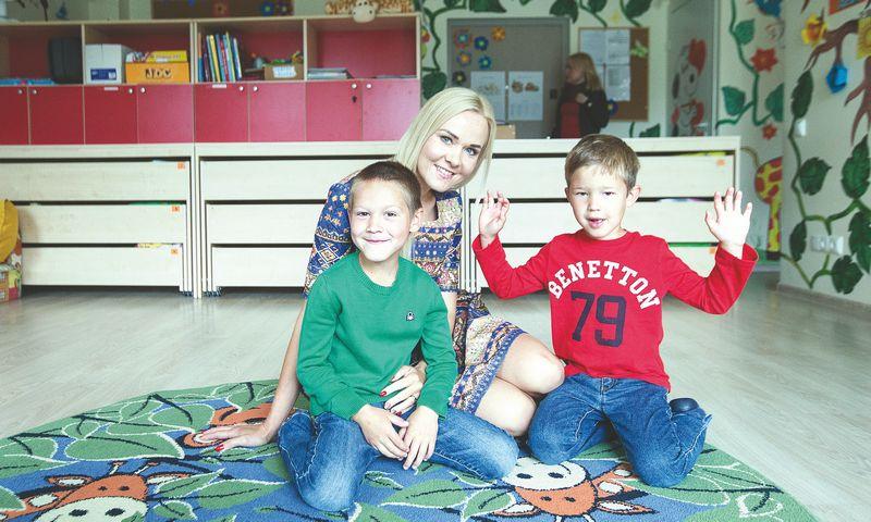 """Miglė Šepetienė, """"Mini darželių"""" direktorė: """"Šiuo metu veikia 9 darželiai, juos lanko apie 200 vaikų."""" juditos grigelytės (vž) nuotr."""