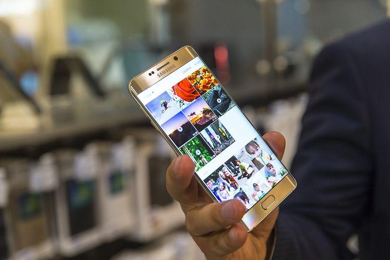 """Samsung Galaxy S6 Edge+"". Vladimiro Ivanovo (VŽ) nuotr."