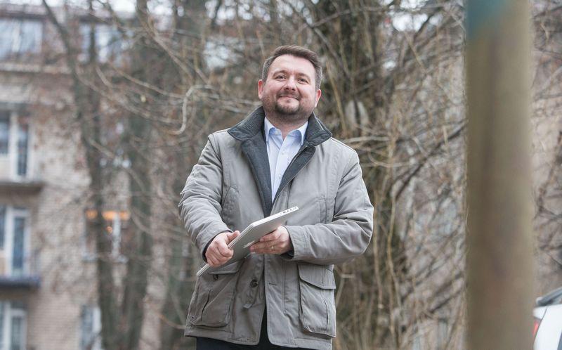 """""""Mes, lietuviai, tikrai galime konkuruoti internete su kitų šalių pardavėjais, tik reikia tvarkingai susidėlioti prioritetus"""", – sako Vytautas Vorobjovas, UAB """"Ekomercija"""" savininkas, Lietuvos elektroninės komercijos asociacijos ELKOMA valdybos pirmininkas.  Juditos grigelytės (VŽ) nuotr."""