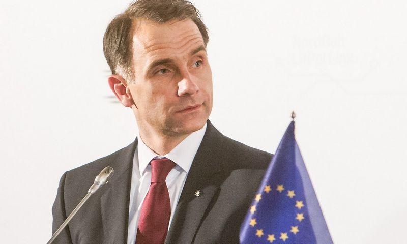 Rokas Masiulis, energetikos ministras. Juditos Grigelytės (VŽ) nuotr.