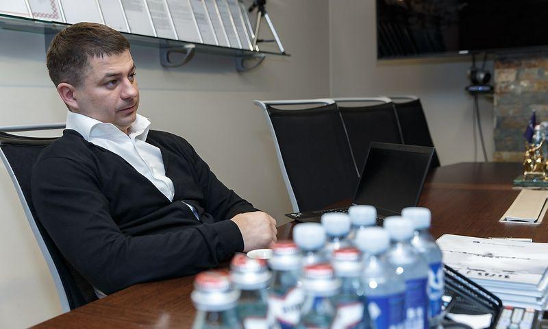 """Gediminas Žiemelis, """"Baltic Avia Solutions Group"""" valdybos pirmininkas, AB """"ŽIA valda"""" valdybos pirmininkas. Vladimiro Ivanovo (VŽ) nuotr."""