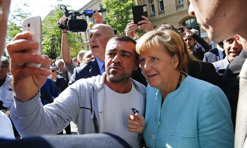 "Angela Merkel, Vokietijos kanclerė. (""Reuters"" / ""Scanpix"") nuotr."