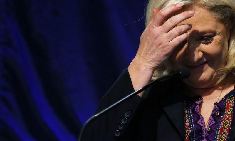 """Marine Le Pen, """"Nacionalinio fronto"""" lyderė. (""""Reuters"""" / """"Scanpix"""") nuotr."""